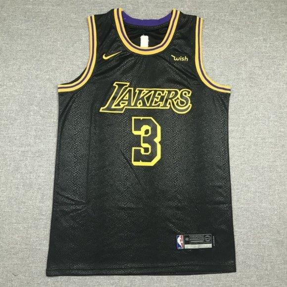 Shirts | Los Angeles Lakers Anthony Davis Black City Jersey | Poshmark